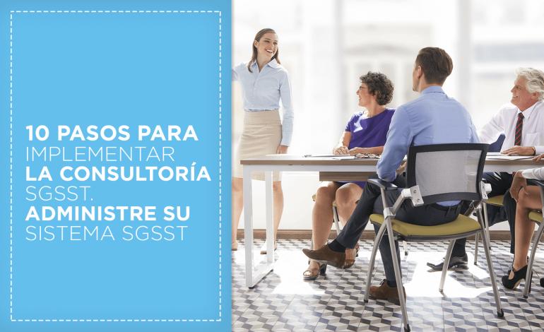 10 pasos para implementar la consultoria SG-SST.